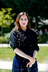 Street style, Amira Casar arriving at Dior Fall-Winter 2018-2019 Haute Couture show held at Musee Rodin, in Paris, France, on July 2nd, 2018. Photo by Marie-Paola Bertrand-Hillion/ABACAPRESS.COM