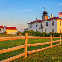 Beavertail Lighthouse in Jamestown, Rhode Island. This historic Rhode Island lighthouse is located in Beavertail State Park and marks the entrance to Narragansett Bay.<br /> <br /> Beavertail Lighthouse photography images are available as museum quality photo, canvas, acrylic, wood or metal prints. Wall art prints may be framed and matted to the individual liking and New England interior design projects decoration needs.<br /> <br /> Good light and happy photo making!<br /> <br /> My best,<br /> <br /> Juergen