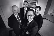 Editorial group portrait of Scottish Businessmaen in Edinburgh