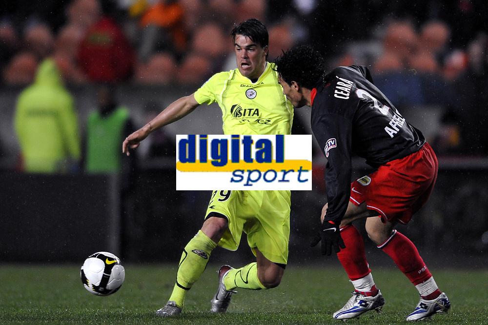 Fotball<br /> Frankrike<br /> Foto: DPPI/Digitalsport<br /> NORWAY ONLY<br /> <br /> FOOTBALL - FRENCH CHAMPIONSHIP 2007/2008 - L1 - PARIS SG v FC VALENCIENNES - 15/03/2008 - FILIP SEBO (VAL) / CEREA (PSG)