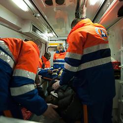 2010/01 Equipes de la Protection Civile au nouvel an