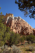 Echo Ampitheater in Carson National Forest near Ghost Ranch. 10 miles north of Abiquiu