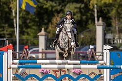 Spits Thibeau, BEL, Caramba van de Helle<br /> Belgian Championship 7 years old horses<br /> SenTower Park - Opglabbeek 2020<br /> © Hippo Foto - Dirk Caremans<br />  13/09/2020