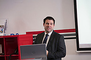 NO FEE PICTURES                                                                                                                                                30/5/19 Community groups from across Ireland attended the Befriending Network Ireland (BNI) seminar in Dublin's Guinness Enterprise Centre on Thursday, which discussed the development of a sustainable community sector. Pictured is Padraic Vallely, Social Innovation Fund Ireland. Picture: Arthur Carron