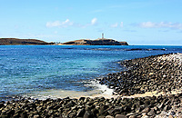 view of the national park of the Abrolhos island bahia state brazil