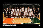 2007 Miami Hurricanes Men's Basketball Team Photo