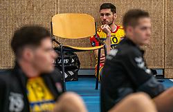 Maikel van Zeist #10 of Dynamo in action in the supercup semifinal between Draisma Dynamo – Active Living Orion on October, 03 2020 in Van der Knaaphal, Ede