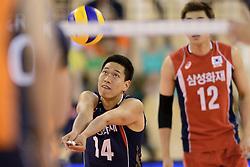 31-05-2014 NED: WLV Nederland - Zuid Korea, Eindhoven<br /> Kang-Joo Lee