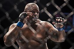 September 16, 2017 - Pittsburgh, Pennsylvania, USA - September 16, 2017: Zu Anyanwu fights during UFC Fight Night at PPG Paints Arena in Pittsburgh, Pennsylvania. (Credit Image: © Scott Taetsch via ZUMA Wire)