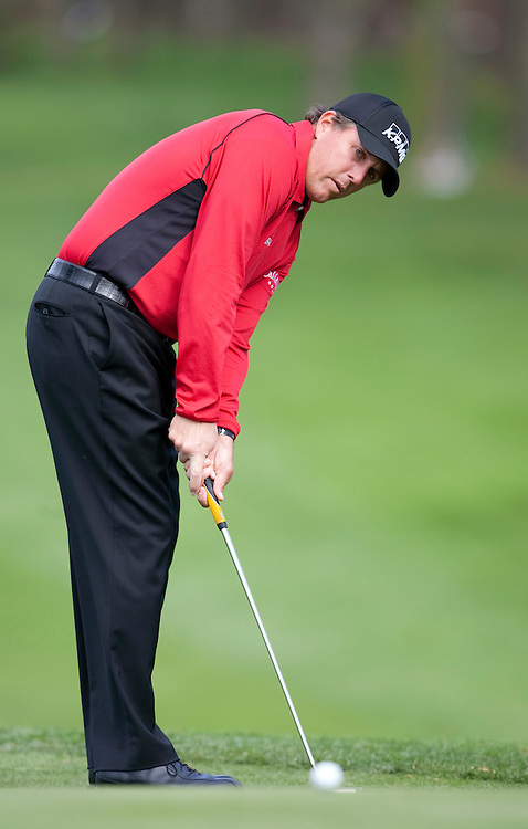 Phil Mickelson at the 2009 AT&T Pebble Beach Pro Am.