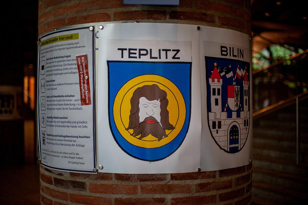 """71st Sudeten German meeting at the """"Philharmonie im Gasteig"""" in Munich."""