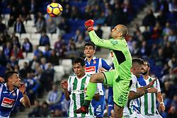 October 30, 2017 - Barcelona, Catalonia, Spain - Pau Lopez during La Liga match between RCD Espanyol v Real Betis Balompie,in Barcelona, on october 30, 2017. (Credit Image: © Joan Valls/NurPhoto via ZUMA Press)