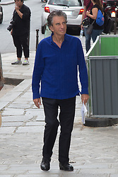 Jack Lang arriving at Jean-Paul Gaultier fashion show during Paris Haute Couture Fall Winter 2018/2019 in Paris, France on July 04, 2018. Photo by Nasser Berzane/ABACAPRESS.COM