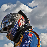 16-17 August, 2014, West Allis, Wisconsin USA<br /> Marco Andretti<br /> ©2014, Phillip Abbott<br /> LAT Photo USA