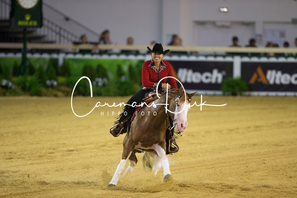 Cira Baeck, (BEL), Colonels Shining Gun - Team Competition and 1st individual qualifying  - Alltech FEI World Equestrian Games™ 2014 - Normandy, France.<br /> © Hippo Foto Team - Dirk Caremans<br /> 25/06/14