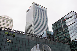 General view of HSBC's UK headquarters, in Canary Wharf, London. The bank is one of several rumoured to be planning a move to Frankfurt after the UK's decision to leave the European Union. Picture date: Wednesday November 23rd,  2016. Photo credit should read: Matt Crossick/EMPICS Entertainment