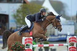 Kreuzer Andreas, (GER), Calvilot<br /> CSI4* Qualifikation DKB-Riders<br /> Horses & Dreams meets Denmark - Hagen 2016<br /> © Hippo Foto - Stefan Lafrentz