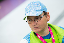 Damjan Pavlin of Slovenia after the Men's R5-10m Air Rifle Prone shooting Qualifications during Day 4 of the Summer Paralympic Games London 2012 on September 1, 2012,  in Royal Artillery Barracks, London, Great Britain. (Photo by Vid Ponikvar / Sportida.com)