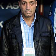 Konyaspor's coach Ziyaeddin DOGAN during their Play Off Second leg match at AliSamiYen Stadium in Istanbul Turkey on Thursday, 20 May 2010. Photo by TURKPIX