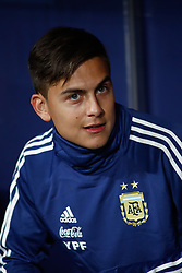 March 22, 2019 - Madrid, MADRID, SPAIN - Paulo Bruno Dybala of Argentina during the international friendly football match played between Argentina and Venezuela at Wanda Metropolitano Stadium in Madrid, Spain, on March 22, 2019. (Credit Image: © AFP7 via ZUMA Wire)