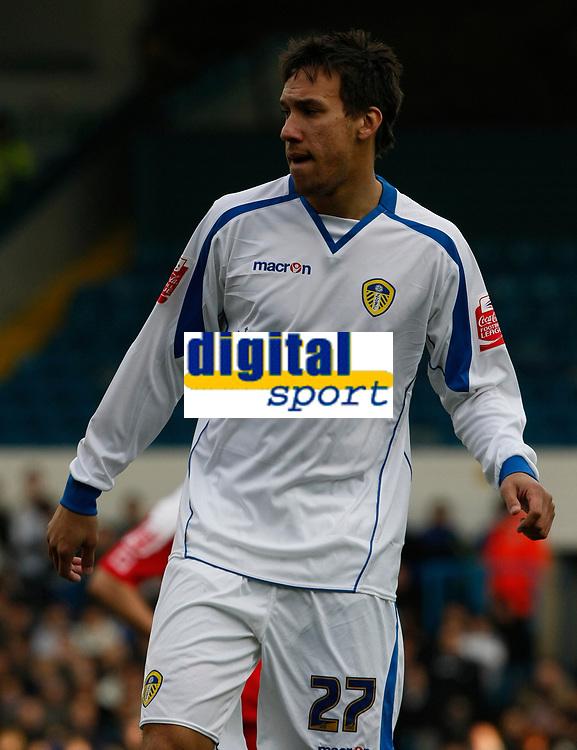 Photo: Steve Bond/Richard Lane Photography. Leeds United v Swindon Town. Coca Cola League One. 14/03/2009. Sub Liam Dickinson