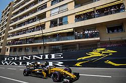 May 27, 2017 - Monte-Carlo, Monaco - Jolyon Palmer of Great Britain and Renault Sport F1 Team driver goes during the qualification on Formula 1 Grand Prix de Monaco on May 27, 2017 in Monte Carlo, Monaco. (Credit Image: © Robert Szaniszlo/NurPhoto via ZUMA Press)