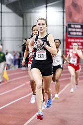 womens 500 meters, heat 3, Brown, Bailey Pate<br /> BU John Terrier Classic <br /> Indoor Track & Field Meet