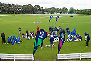 All the teams after the National Primary School Cup Final, Bert Sutcliffe Oval, Lincoln, New Zealand, 16th November 2018.Copyright photo: John Davidson / www.photosport.nz