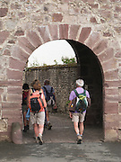 The Porte Saint Jacques is the ancient entrance to the town of Saint Jean Pied de port. Pilgrims have walked through this archway for hundreds of years. It was added to the list of UNESCO World Heritage Sites in 1998.