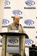 Mark Waid at Wondercon in Anaheim Ca. March 31, 2019