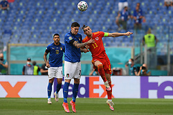 ROME, ITALY - JUNE 20:  during the UEFA Euro 2020 Championship Group A match between Italy and Wales at Olimpico Stadium on June 20, 2021 in Rome, Italy. (Photo by Chris Ricco - UEFA)
