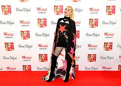 Gwen Stefani before switching on the Christmas Lights at Westfield London, Shepherd's Bush, London.