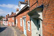 Terraced cottages Angel Lane, Woodbridge, Suffolk