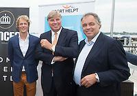 LOOSDRECHT - Aad Ouborg. Lancering Sport Helpt, een initiatief van hockeyers Rogier Hofman en Tim Jenniskens. FOTO KOEN SUYK