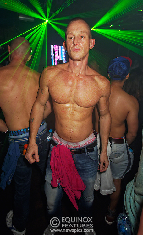 London, United Kingdom - 2 November 2013<br /> 23rd birthday party for Trade gay club night at Egg nightclub, York Way, King's Cross, London, England, UK.<br /> Contact: Equinox News Pictures Ltd. +448700780000 - Copyright: ©2013 Equinox Licensing Ltd. - www.newspics.com<br /> Date Taken: 20131102 - Time Taken: 184651+0000