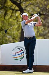 March 21, 2018 - Austin, TX, U.S. - AUSTIN, TX - MARCH 21: Luke List watches a drive during the First Round of the WGC-Dell Technologies Match Play on March 21, 2018 at Austin Country Club in Austin, TX. (Photo by Daniel Dunn/Icon Sportswire) (Credit Image: © Daniel Dunn/Icon SMI via ZUMA Press)