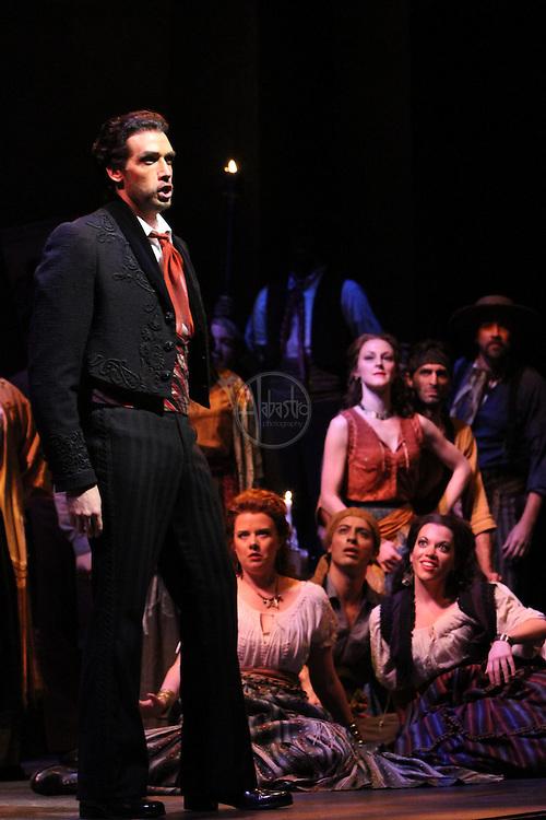 Seattle Opera Carmen, October 2011.