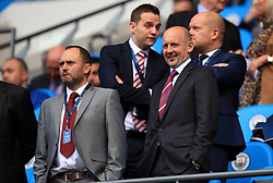 Stoke City's Vice-Chairman John Coates in the stands