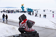 Wisconsin Foundation and Alumni Association Winter Festival Lady Liberty One Alumni Place Feb. 2, 2019, in Madison, Wis. (Photo © Andy Manis)