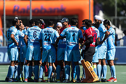 coach Harendra Singh of India give instructions during the Champions Trophy finale between the Australia and India on the fields of BH&BC Breda on Juli 1, 2018 in Breda, the Netherlands.
