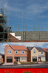 Harron houses for sale as part of the Governments 'Help to Buy' scheme, Kingsbrook Park, Manvers Way, Wath upon Dearne, Rotherham, South Yorkshire.