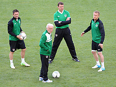 Ireland Training in the Euro 2012