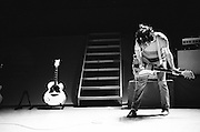BIRMINGHAM, AL – JULY 7, 2007: Singer-songwriter Jack White of rock and roll band The White Stripes performs as Sloss Furnace.