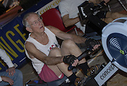 Dresden, GERMANY,  Dresden, GERMANY, US Indoor Rowing Team, Paul RANDALL, competing at the  European Indoor Rowing Championships, Margon Arena,  15/12/2007 [Mandatory Credit Peter Spurrier/Intersport Images