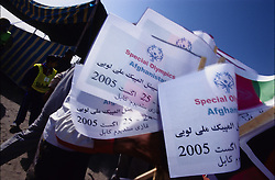 SPECIAL OLYMPICS AFGHANISTAN..Kabul, 23 August 2005..SOA's Opening Ceremony