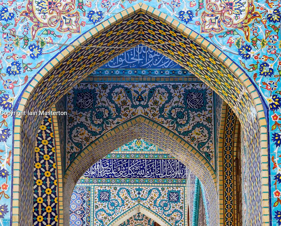 The Iranian Mosque in Satwa Dubai United Arab Emirates
