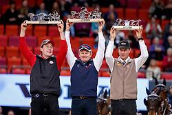 Exell Boyd, AUS, 1A Bajnok - 1B Clinton Star - 1D Costa 49 - 1E Demi<br /> Gothenburg Horse Show FEI World Cups 2017<br /> © Hippo Foto - Stefan Lafrentz<br /> 26/02/17