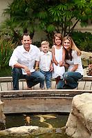 1 August 2008:  Jeff Alba (38), Sue Alba (37), Sophia Alba (4.5) and Alex Alba (2.5) Family photos. Summer 2008.  Hyatt and Balboa Pier, Newport Beach, CA.   Personal Use Only