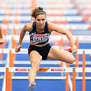 Laura Valette competes in women 100m hurdles during the European Championships 2018, at Olympic Stadium in Berlin, Germany, Day 2, on August 8, 2018 - Photo Philippe Millereau / KMSP / ProSportsImages / DPPI