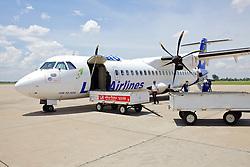 Lao Airlines Airplane, Vientiane Airport